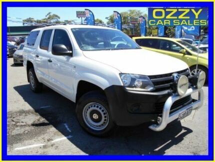 2011 Volkswagen Amarok 2H TDI400 (4x4) White 6 Speed Manual Dual Cab Utility Penrith Penrith Area Preview