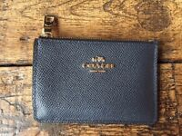 Coach - Blue Leather Wallet