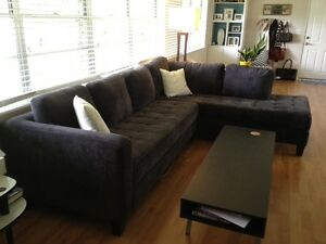 Couch, L Shape - Needs to go! (Free delivery) Brisbane City Brisbane North West Preview
