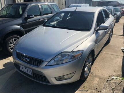 2010 Ford Mondeo MB Zetec Tdci Silver 6 Speed Direct Shift Hatchback Hoppers Crossing Wyndham Area Preview