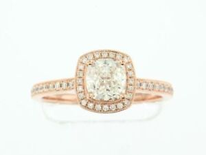 *NEW* Rose Gold Diamond Engagement Ring and Wedding Band