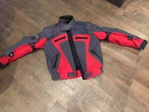Spyke Motorcycle or ATV Padded Jacket Size Medium
