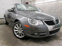 2011 Volkswagen Eos CONVERTIBLE CUIR MAGS 18 TOIT SPORT 75,000KM
