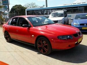 2002 Holden Commodore VX II Acclaim Red 4 Speed Automatic Sedan North St Marys Penrith Area Preview