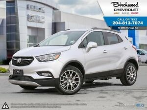 2018 Buick Encore Sport Touring AWD - 0% Financing for up to 84