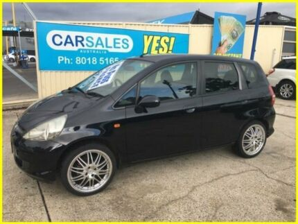 2005 Honda Jazz GD MY05 VTi Black 7 Speed Constant Variable Hatchback