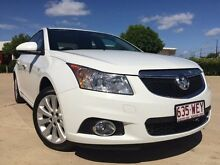 2014 Holden Cruze JH Series II CDX White 6 Speed Semi Auto Sedan Garbutt Townsville City Preview