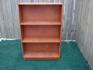 Wood Shelving Unit with three shelves
