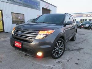 2015 Ford Explorer XLT-NAVI,PANO ROOF,LOADED,ONE OWNER,$28,995
