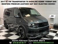 2017 67 VW Volkswagen Transporter Kombi 150PS SWB DSG T32 Highline R Edition