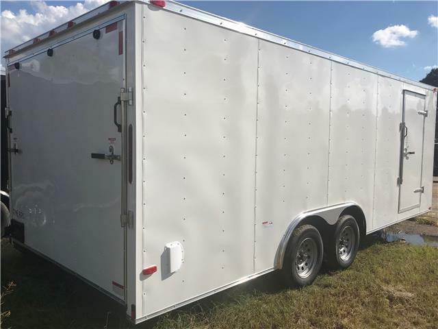 NEW 2020 8.5x24 Enclosed Car Hauler Cargo Trailer w/Radials, Tube Frame