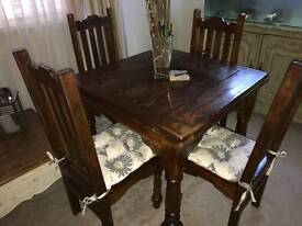 Stunning solid oak table