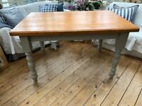 Solid Farmhouse Pine Dining Table