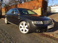 AUDI A4 4.2 S4 QUATTRO 4d 339 BHP 2 OWNERS+FSH+12M MOT+6M (black) 2004