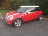 Mini Cooper 1.6 Petrol Manual Good clean car Chilli Red Usual Mini refinements Factory sunroof