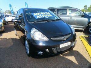 2007 Honda Jazz GD VTi-S Metallic Black 7 Speed Constant Variable Hatchback Minchinbury Blacktown Area Preview