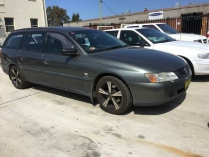 2004 Holden Commodore VY II Executive Grey 4 Speed Automatic Wagon