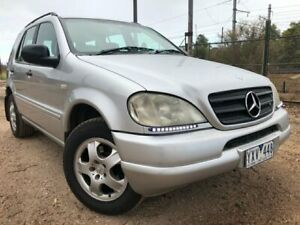 2000 Mercedes-Benz ML270 CDI Luxury 4x4 Silver 5 Speed Auto Tipshift Wagon Hoppers Crossing Wyndham Area Preview