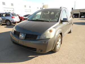 2004 NISSAN QUEST * AS IS *