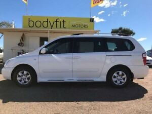 2009 Kia Grand Carnival VQ EXE White Sports Automatic Wagon