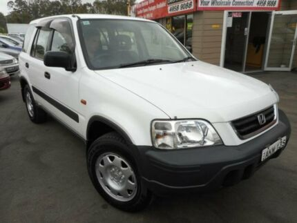 1998 Honda CR-V (4x4) 50th Anniversary White 5 Speed Manual 4x4 Wagon Edgeworth Lake Macquarie Area Preview