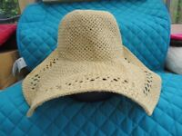 Women's H&M Divided Straw Hat BN