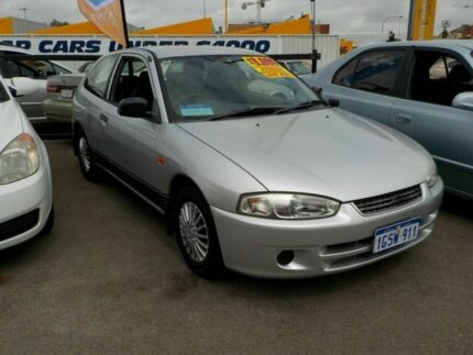 2002 Mitsubishi Mirage CE MY2002 Silver 4 Speed Automatic Hatchback Victoria Park Victoria Park Area Preview