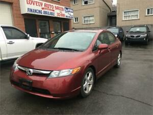 2006 Honda Civic Sdn EX ,POWER SUNROOF,LOW LOW KM