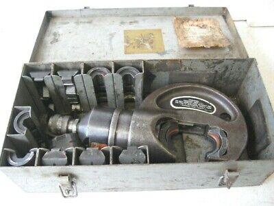 Thomas Betts Tb Tbm-15pf 15 Ton Hydraulic Crimping Tool W Dies