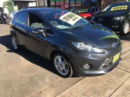 2011 Ford Fiesta WT Zetec Charcoal 6 Speed Auto Dual Clutch Hatchback Lidcombe Auburn Area Preview