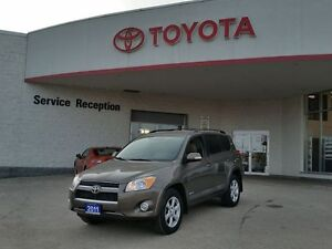 2011 Toyota RAV4 Limited AWD.