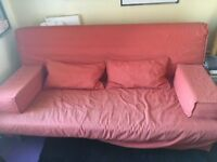 Double sofa bed for sale. Very comfortable and easy to assemble.