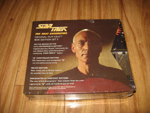 Star Trek The Next Generation Film Cell Set Includes Borg Edition Free Shipping