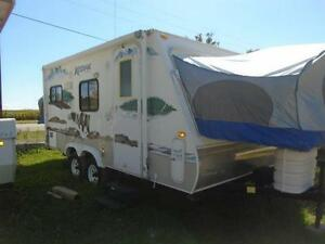 "2009 Kodiak 69313 RV Hybrid Style 16'6"" Closed - 24' Open"