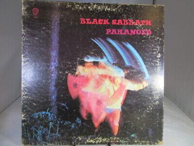 Black Sabbath - Paranoid LP - Warner Bros. Green Label  WS-1887 Gatefold VG c VG