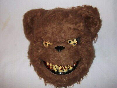 DEADY BEAR TED SCARY HALLOWEEN MASK BLOODY TEETH CREEPY HORROR TEDDY BEAR - Teddy Bear Halloween Mask