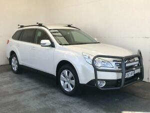 2011 Subaru Outback B5A MY11 2.5i Lineartronic AWD Touring White 6 Speed Constant Variable Wagon