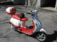 "Vespa S50 2012 ""Special édition"""
