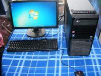 acer veriton pc computer athlon 1.8 3gb memory 500gb harddrive 19inch widescreen