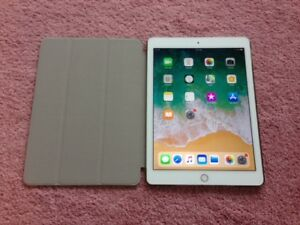 Excellent White & Silver 16GB Apple iPad Air 2 + New Case