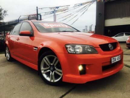 2008 Holden Commodore VE MY08 SV6 5 Speed Automatic Sedan