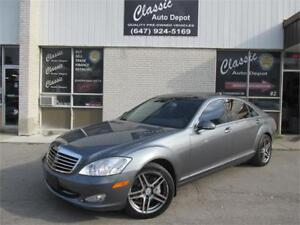2007 MERCEDES-BENZ S550 4MATIC *NIGHT VISION,NAVI,BACKUP CAM!!!*
