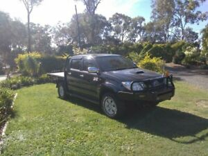 2009 Toyota Hilux KUN26R MY09 SR5 Black 5 Speed Manual Utility Capalaba Brisbane South East Preview