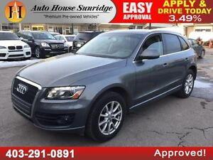 2012 Audi Q5 2.0 T TURBO PANORAMIC ROOF