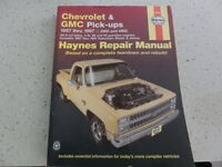 1967 to 1987 Chevrolet and GMC pickup manual