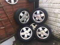 "Renault 15"" alloys"