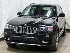 2017 BMW X3 xDrive28i Turbo AWD w/ Navigation, Leather, Moonro