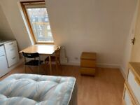 091T-TFB-WEST KENSINGTON-DOUBLE STUDIO FLAT, FURNISHED, BILLS INCLUDED - £180 PER WEEK