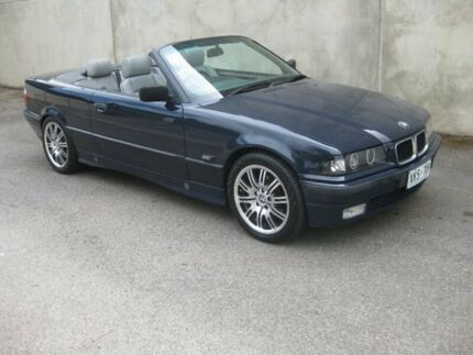 1994 BMW 325I E36 Blue 5 Speed Manual Convertible