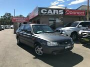 2000 Hyundai Accent LC GL Grey 5 Speed Manual Hatchback Edgeworth Lake Macquarie Area Preview